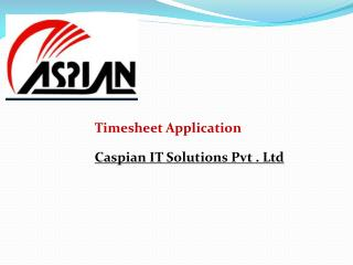 Timesheet Application