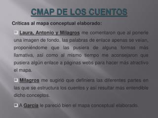 CMAP DE LOS CUENTOS