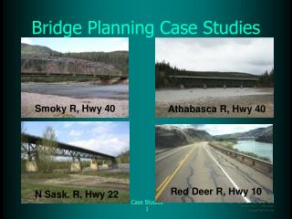 Bridge Planning Case Studies