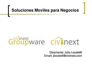 Soluciones Moviles para Negocios