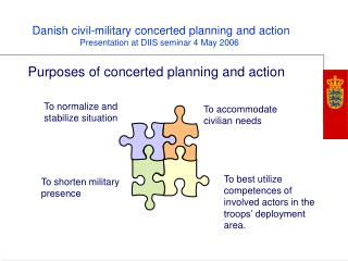 Purposes of concerted planning and action
