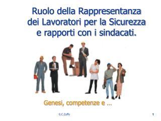 Ruolo della Rappresentanza dei Lavoratori per la Sicurezza e rapporti con i sindacati.