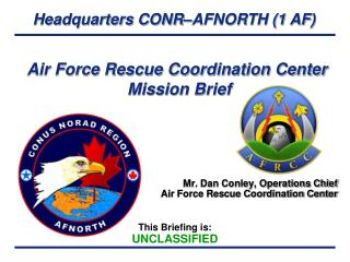 Air Force Rescue Coordination Center  Mission Brief