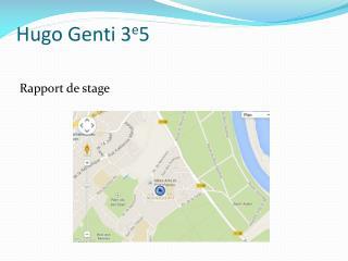 Hugo  Genti  3 e 5