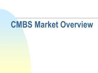 CMBS Market Overview