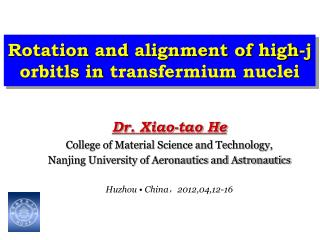 Rotation and alignment of high-j  orbitls  in  transfermium  nuclei