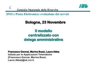 Bologna, 23 Novembre