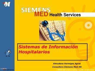 Sistemas de Información Hospitalarios