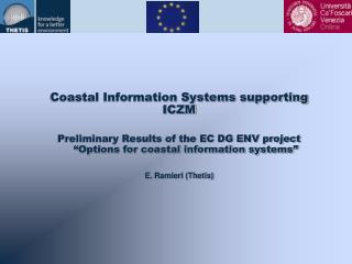Coastal Information Systems supporting ICZM