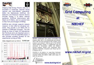 Grid Computing at NIKHEF