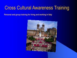 Cross Cultural Awareness Training