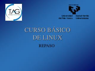 CURSO BÁSICO DE LINUX