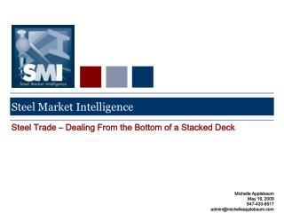 Steel Market Intelligence
