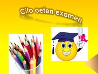 Cito oefen examen