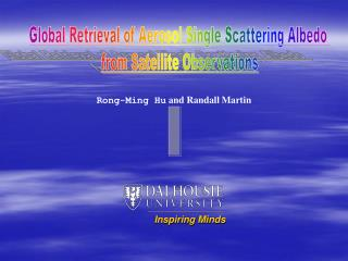 Rong-Ming Hu  and Randall Martin
