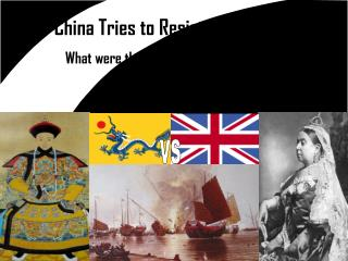 China Tries to Resist Imperialism