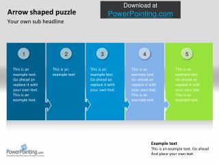 Powerpoint Puzzle Arrows