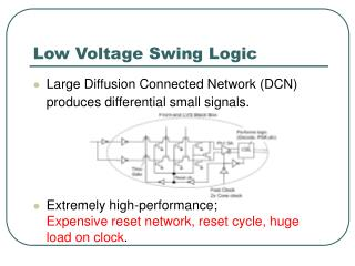 Low Voltage Swing Logic