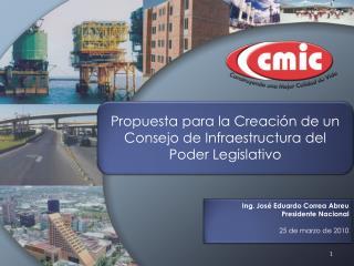 Propuesta para la Creación de un Consejo de Infraestructura del Poder Legislativo
