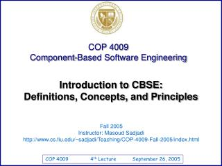 Introduction to CBSE: Definitions, Concepts, and Principles