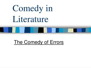 Comedy in Literature