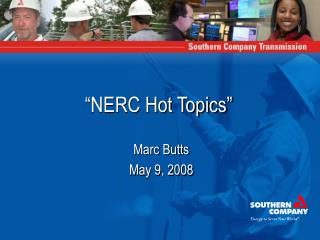 """NERC Hot Topics"""