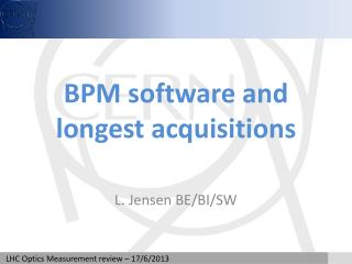 BPM software and longest acquisitions