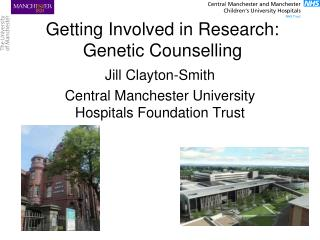 Getting Involved in Research: Genetic Counselling