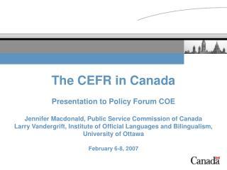 Bilingualism in Canada