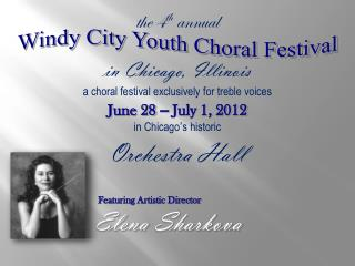 Windy City Youth Choral Festival