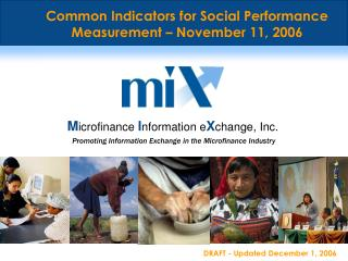 Promoting Information Exchange in the Microfinance Industry
