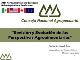 Revisi n y Evoluci n de las Perspectivas Agroalimentarias