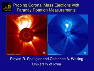 Probing Coronal Mass Ejections with Faraday Rotation Measurements