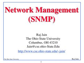 Network Management (SNMP)