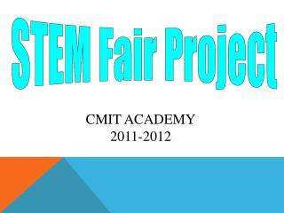 STEM Fair Project