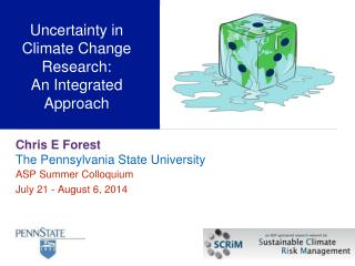 Uncertainty  in Climate Change Research:  An  Integrated  Approach