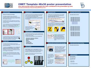 CMET Template 48x36 poster presentation