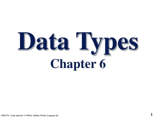 Chapter 5 Modeling Basic Operations and Inputs