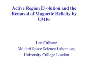 Active Region Evolution and the Removal of Magnetic Helicity by CMEs