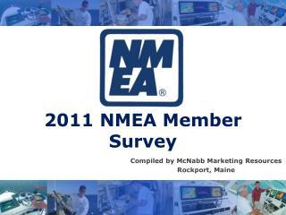2011 NMEA Member Survey