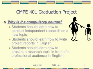 CMPE-401 Graduation Project