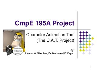 CmpE 195A Project