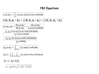 782 Equations