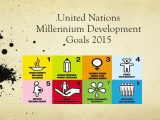 United Nations  Millennium Development Goals 2015