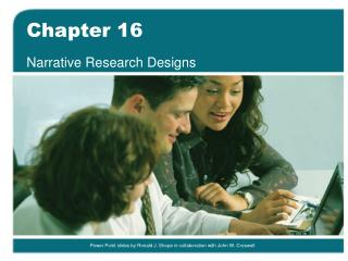 Narrative Research Designs