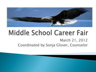 Middle School Career Fair