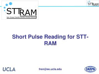 Short Pulse Reading for STT-RAM