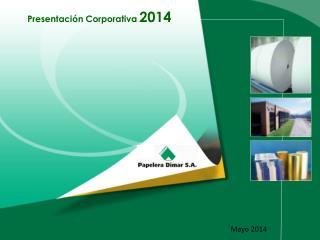 Presentación Corporativa  2014
