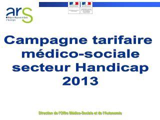 Direction de l'Offre Médico-Sociale et de l'Autonomie