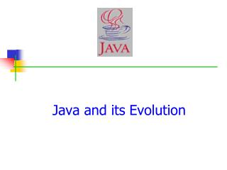 Java and its Evolution